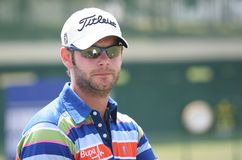 Paul faisant attention (l'anglais) au Français de golf ouvrent 2009 Image stock