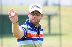 Paul faisant attention (l'anglais) au Français de golf ouvrent 2009 Images stock