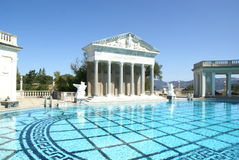 Paul Getty Museum Pool Royalty Free Stock Photo