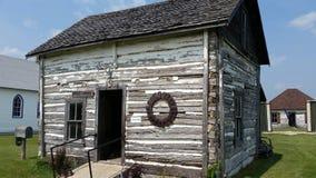 Paul House, La forte Reine Museum, MB della prateria della La di Portage fotografie stock libere da diritti
