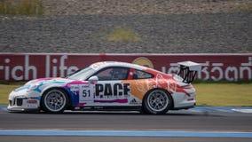 Paul Ip de KCMG des séries de Le Mans d'Asiatique - course 2016 à l'Asiatique le Photo stock