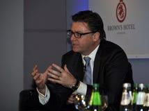 Paul James, Clefs d'Or Kongreß Lizenzfreie Stockfotos