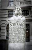 Paul Julius Reuter Memorial Stock Images