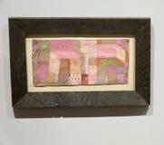 Paul Klee - an Albertina-Museum in Wien Stockfoto