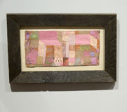 Paul Klee - au musée d'Albertina à Vienne photo stock