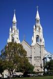 Paul kościoła Peter sts Obrazy Royalty Free