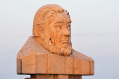 Paul Kruger Statue - Kruger National Park, South Africa Royalty Free Stock Photography