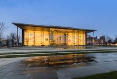 Paul Loebe Haus den parlamentariska byggnaden i Berlin Arkivbild