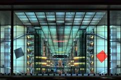 Paul-Loebe-Haus facade, HDRi Stock Photo