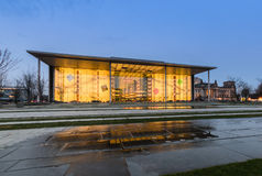 The Paul Loebe Haus parliamentary building in Berlin Stock Photography