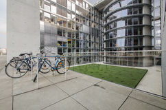 Paul Loebe Haus  Parliamentary Office Building in Berlin with bi Stock Images