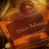 Paul Masson Czerwony Jagodowy alkohol Zdjęcie Royalty Free