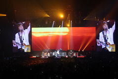 Paul McCartney Concert O2 London Stock Images