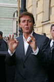 Paul McCartney i St Petersburg Royaltyfri Fotografi
