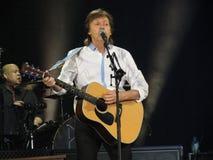 Paul McCartney levend in Wenen 2013 Stock Afbeelding