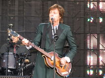 Paul McCartney live in Vienna 2013 Royalty Free Stock Images