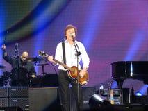 Paul McCartney live in Vienna 2013 Royalty Free Stock Photos
