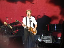 Paul McCartney live in Vienna 2013 Stock Image