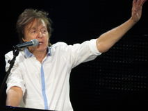 Paul McCartney live in Vienna 2013 Stock Photography