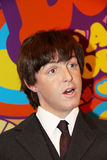 Paul Mccartney. London, - United Kingdom, 08, July 2014. Madame Tussauds in London.  Waxwork statue of Paul Mccartney from the Beatles. Created by Madam Tussauds Royalty Free Stock Image