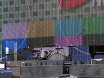 Paul McCartney's stage Stock Image