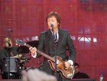 Paul McCartney vive en Viena 2013 Fotografía de archivo libre de regalías