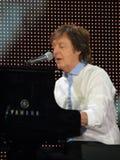 Paul McCartney żywy w Wiedeń 2013 Obrazy Royalty Free
