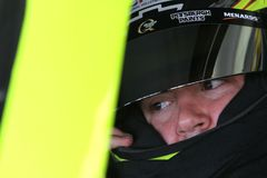 Paul Menard at track Royalty Free Stock Photo