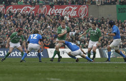 Paul O'Connell,Ireland V Italy,6 Nations Rugby Stock Photos