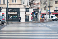 Paul pastry shop Stock Image
