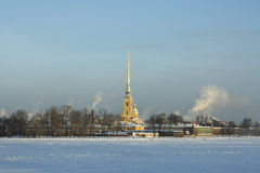 Paul and Peter cathedral in Saint Petersburg. Russia Royalty Free Stock Photography