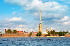 Paul and Peter fortress in Saint Petersburg Stock Photo