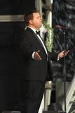 Paul Potts. First performance live at Margam Country Park in Neath since winning TV's Britains Got Talant competition. 2007 Stock Photography