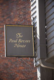 The Paul Revere House Royalty Free Stock Image