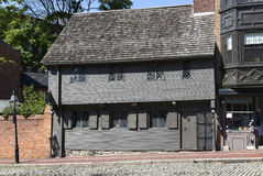 Paul Revere House royaltyfri bild