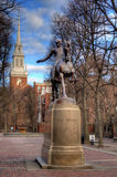 Paul Revere Mall Stock Images
