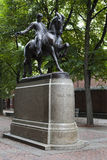 Paul Revere Monument Stock Image