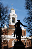 Paul Reveres Monument Royalty Free Stock Photos