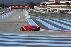 Paul Ricard High Tech Test track buildings Royalty Free Stock Images