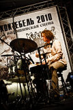 Paul Roges Trio on Jazz Koktebel Festival 2010 Royalty Free Stock Photo