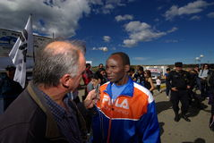 Paul Rotich, runner Royalty Free Stock Photos