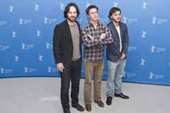 Paul Rudd, Emile Hirsch, David Gordon Green Stockfotografie