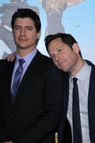 Paul Rudd, Ken Marino Stock Images