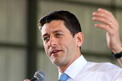Paul Ryan Rally Royalty Free Stock Photos