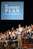 Paul Ryan Rally in het Nieuws van Nieuwpoort, Virginia Stock Fotografie