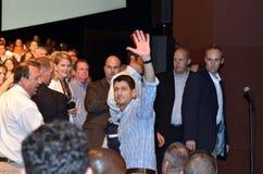 Paul Ryan Rally in het Nieuws van Nieuwpoort, Virginia Royalty-vrije Stock Afbeeldingen
