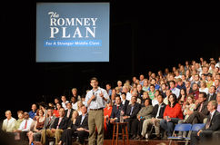 Paul Ryan Rally in Newport News, Virginia Stock Image