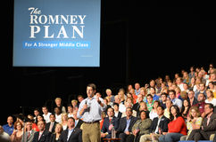 Paul Ryan Rally in Newport News, Virginia Stock Photography