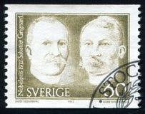 Paul Sabatier i Victor Grignard Fotografia Stock