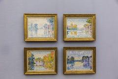 Paul Signac dans Neu Pinakothek à Munich photos stock